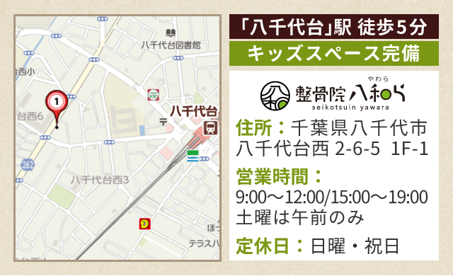 千葉県八千代市八千代台西2-6-5 石渡ビル第一 1F-1
